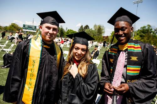 2021 Commencement Students